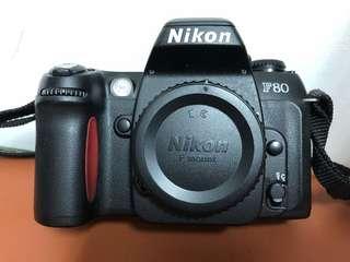 🚚 Nikon F80 底片單眼相機