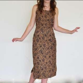 Afrix 3/4 Dress