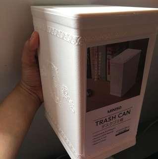 MINISO Trash Can (White)