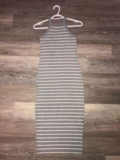 Garage Stripped Summer Dress