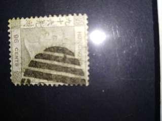 香港最貴的郵票橄欖色九十六先時