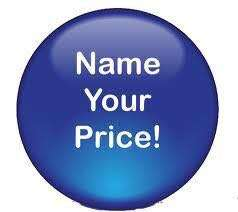 Name your Price for any items, Half the price Pdeng pde!😀