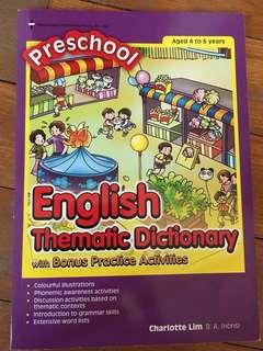 Preschool Thematic Dictionary
