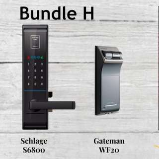Super Bundle - Fingerprint Digital Door Lock for Door and Gate