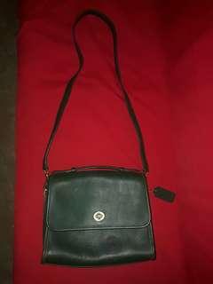 Coach Vintage Leather Shoulder Bag Authentic