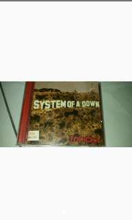 Dijual cd musik original system of a down band