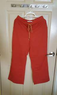 Clearance Sale Orange Olivia Pant ($10 only)