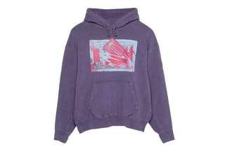 🚚 Cavempt紫色logo帽T