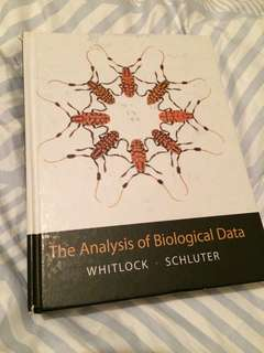 The Analysis of Biological Data -2009 edition