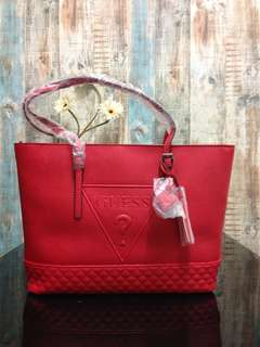 💯AUTHENTIC GUESS Baldwinpark Carryall Large Tote Bag