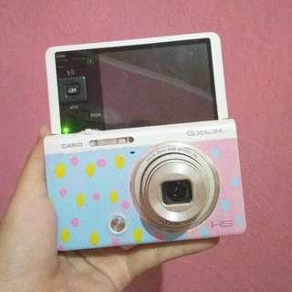 Casio exilim zr50 second kamera selfie dan vlog