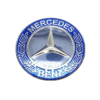 🚚 賓士 Benz 鋁圈 輪圈中心蓋貼紙標誌 貼標65 72 MM c320 c200 c250 c300 w203 amg