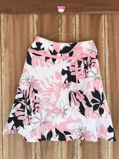 Flared Skirt in Pink