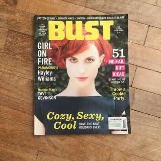BUST Magazine: Hayley Williams