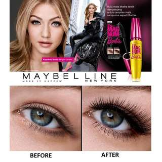 MAYBELLINE the magnum barbie volume express waterproof