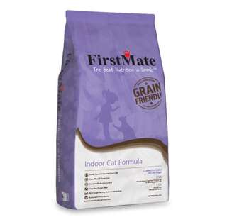 FirstMate Grain Friendly Indoor Cat 5lb - $30.00 / 13.2lb - $70.00