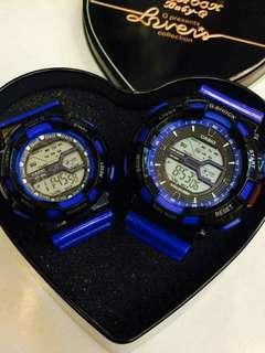 Couple watch