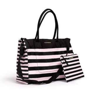 Victoria's Secret Striped Handbag