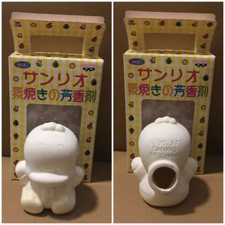 Sanrio Ahiru No Pekkle 鴨仔 1997 年 人形香薰素陶瓷公仔 (全新未用過) 3 吋高 (** 只限北角地鐵站交收 **)