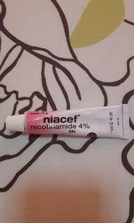 90% FULL NIACEF GEL NICOTINAMIDE 4%