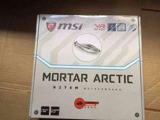 MSI Mortar Arctic H270M Motherboard