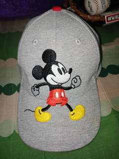 Disney Toddler Boys Mickey Mouse Baseball Hat - Heather Gray