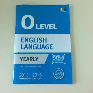 ShingLee O Level Eng Language Yearly Past Year Paper