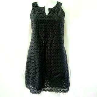 Cotton little brocade dress