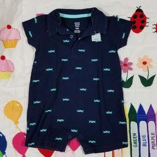 Just One You made by Carter's Collared Romper Planes