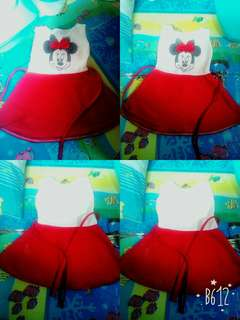 Mike mouse dress