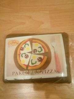 Paket flat pizza (untuk kerajinan tangan)