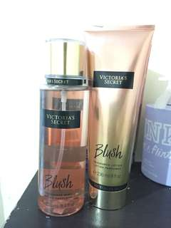 Authentic Victoria's secret Lotion and Perfume (Blush)