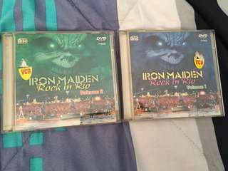 Iron Maiden Rock In Rio Vcds