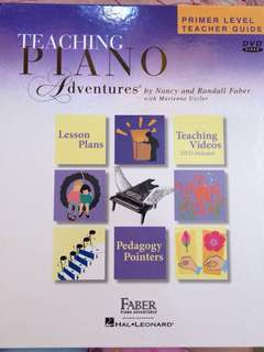Teaching Piano Adventures (Primer Level Teaching Guide)