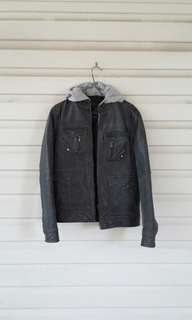 Real Pigskin Leather Jacket
