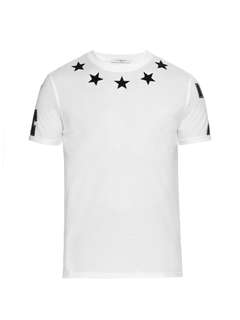 Givenchy star tee shirt