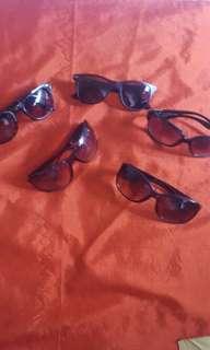 Sun glasses take all 5 pcs