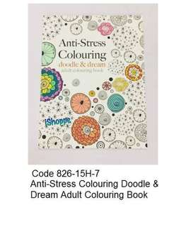 Anti Stress Colouring Doodle & Dream Adult Colouring Book