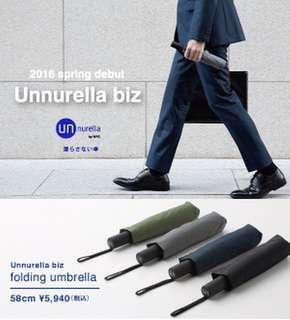 日本 w.p.c unnurella 強效跣水自動縮骨遮 自動傘 預購