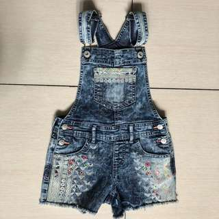 Jordache overrun denim jumpshorts
