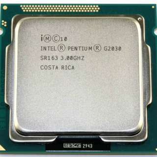 Intel® Pentium® Processor G2030 (Bare Processor)