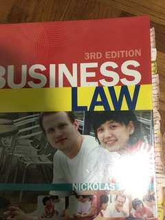 RMIT Law 2446 Commercial Law