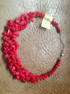 Kalung Batu (Red Necklace)