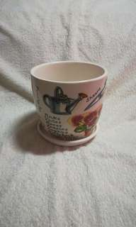 Vintage Ceramic Flower Pot