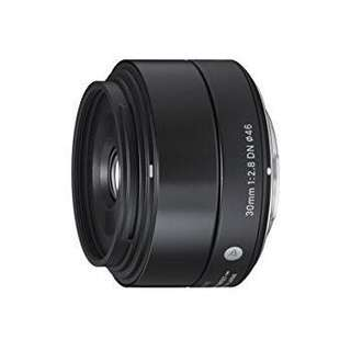 Sigma 30mm f2.8 Art Lens (e-mount)