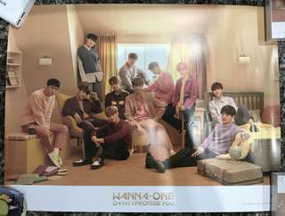 wanna one i promise u poster