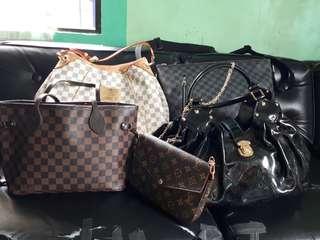 LV BAGS take all