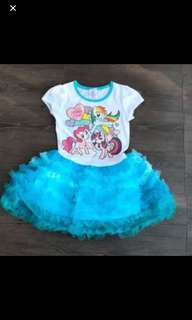 Instock My Little Pony Dress Brand New Size avail for 4T And 6t
