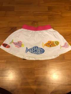 Little Mavens skirt with inner short