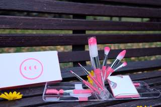 Coringco Makeup Brush Pink Kit Collection